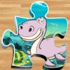 dinosaur puzzles jigsaw 恐龙霸王龙 雷克斯 恐龙火车 4年 5年 孩子遊戲