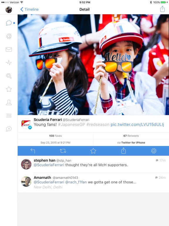 Tweetbot 4 for Twitter Screenshots