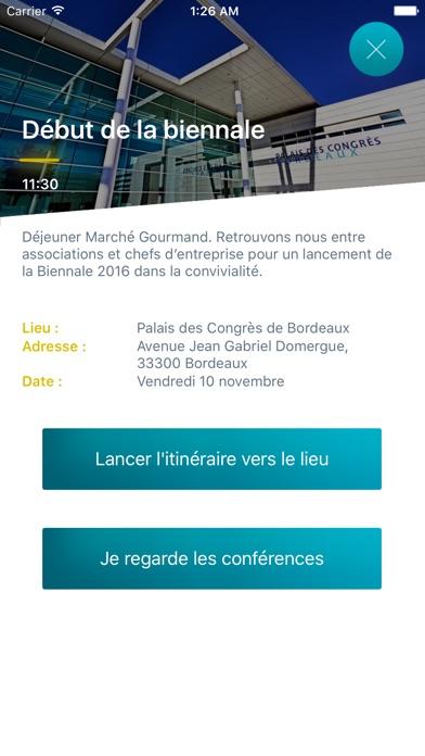 Réseau Entreprendre - Biennale 2016Capture d'écran de 2