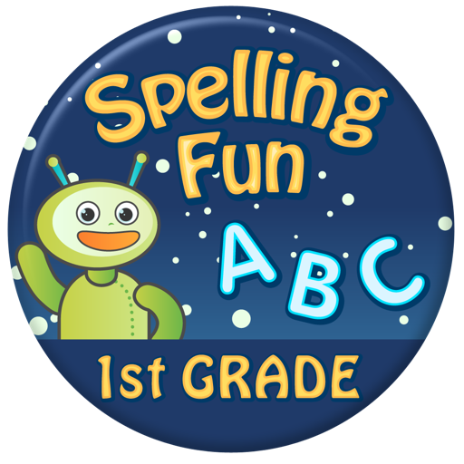 Vocabulary & Spelling Fun 1st Grade: Reading Games With A Cool Robot Friend
