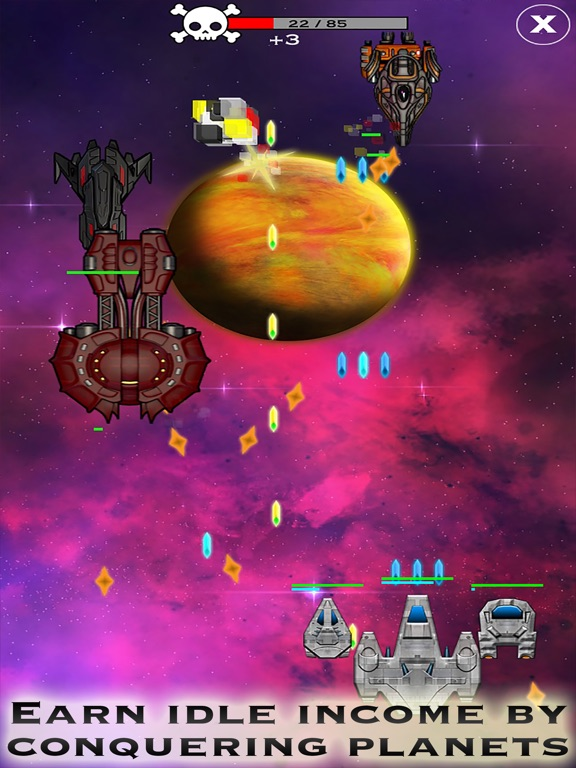 Click and Conquer: Space Age - Idle Shooter Screenshot