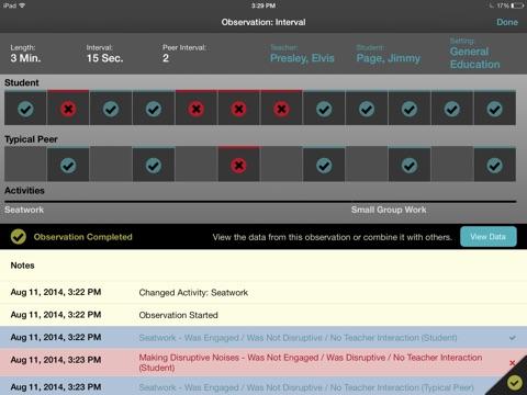 BehaviorSnap screenshot 1