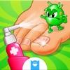 Médico del pie loco-juego de hospitales para niños