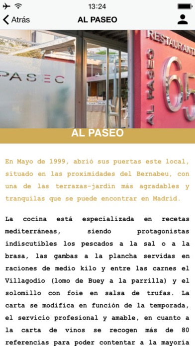 App Shopper Al Paseo Food Drink