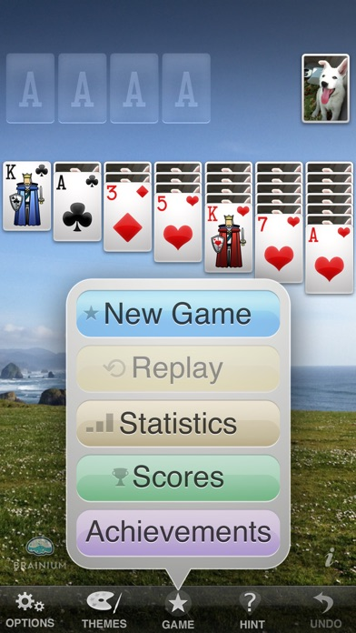Screenshots of ⋆Solitaire for iPhone