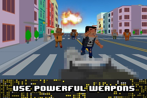 Pixel Wars: City Battlefield 3D Full screenshot 3