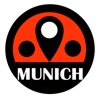 慕尼黑旅游指南地鐵路線德國離線地圖 BeetleTrip Munich travel guide with offline map and München u-bahn metro transit