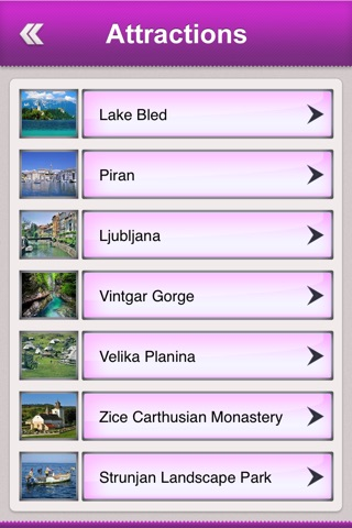 Slovenia Tourist Guide screenshot 3