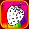 Erdbeer-Malbuch-Show für Kind
