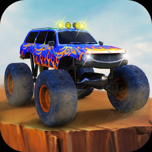 Crazy Monster Truck Racing: A realistic truck driving game iOS App