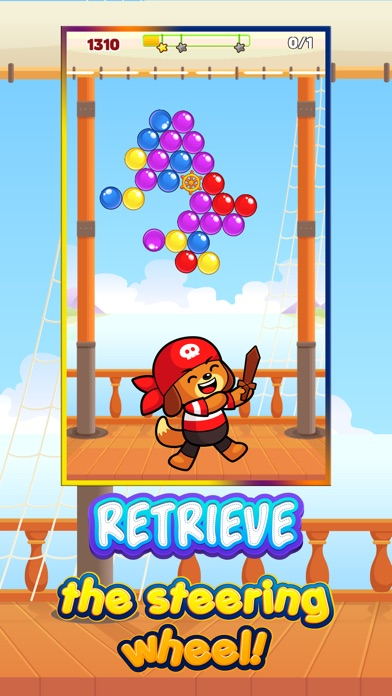 Cannonball Candies - Help Pirate Bear Shoot and Recover his Treasure Screenshot