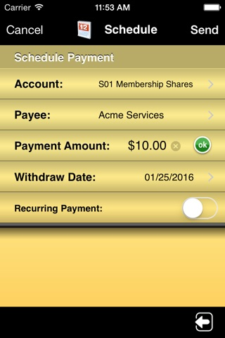 SELCO Community Credit Union Mobile screenshot 3
