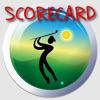 Lazy Guy's Golf Scorecard - Keep Score of Your Round of Golf with this Handy Golfcard Scorekeeper