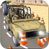 Military Parking Mania Jeep Simulator - 3D-Echt Truck Driving Game