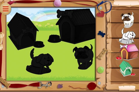 Baby Puzzles : Funny Dogs screenshot 4