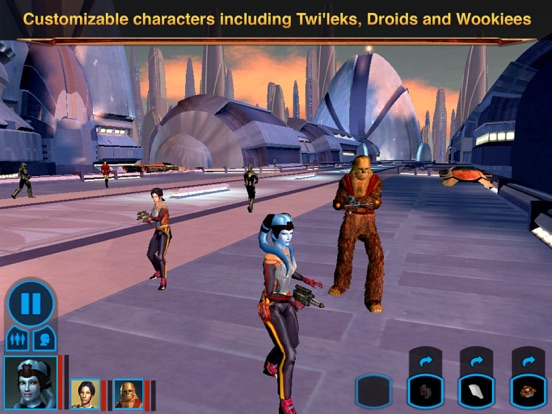 Screenshot #3 for Star Wars®: Knights of the Old Republic™