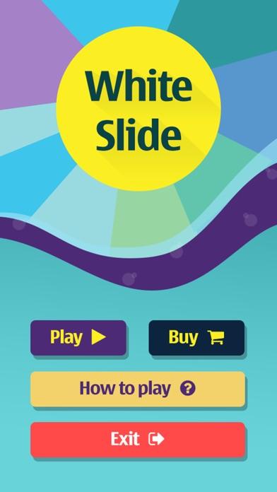White Slide Screenshot