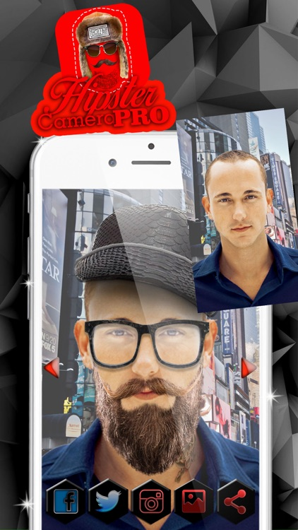 8e02ccb8e Hipster Camera Pro – Cool Face Sticker.s Photo Editor with Hair.style,