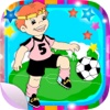 Aufkleber und Stickers von Fußball und football für Fotos