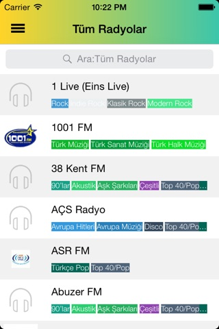 Radyo - A'dan Z'ye Bütün Radyolar - Radyo Dinle - Müzik Dinle - Dilediğin Yerde screenshot 3