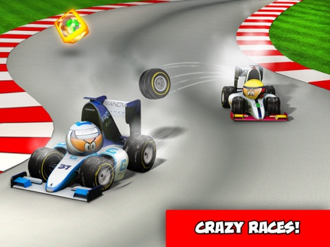 Игра MiniDrivers - The game of mini racing cars