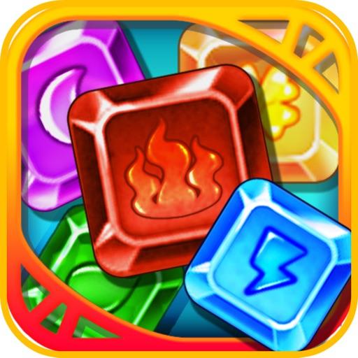 Jewels Diamond Attack Classic iOS App