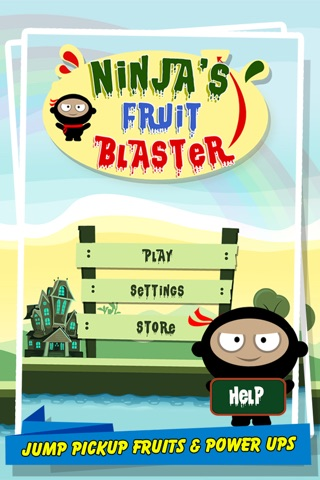 Ninja's Fruit Blaster screenshot 1