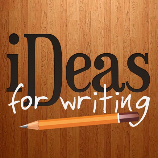 iDeas for Writing - Creative prompts to beat writer's block iOS App