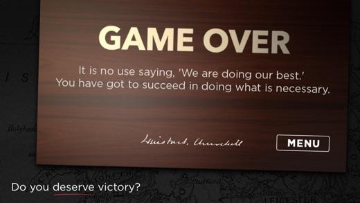 Churchill Solitaire - World War Card Game Screenshot