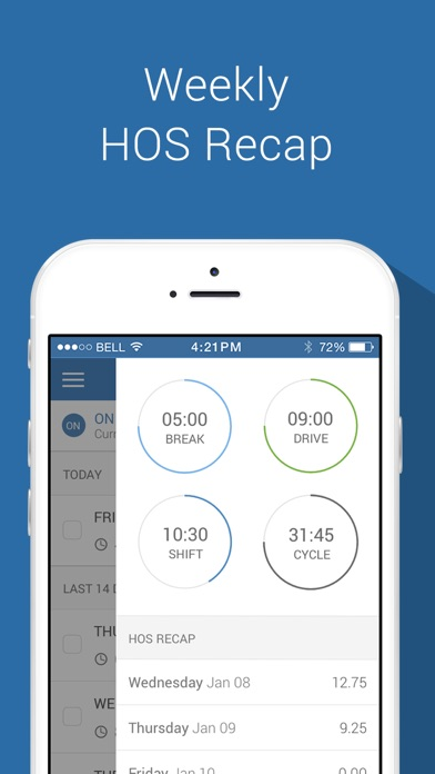 Keeptruckin Electronic Logbook On The App Store