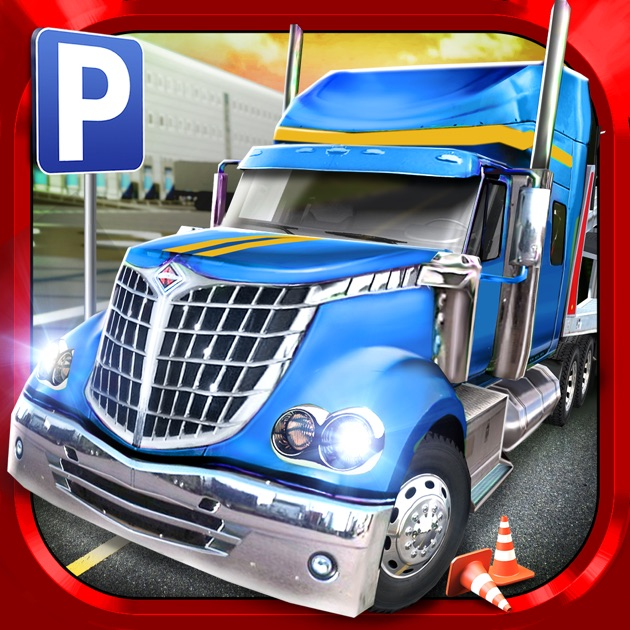 trucker parking simulator gratuit jeux de voiture de course dans l app store. Black Bedroom Furniture Sets. Home Design Ideas