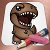 Draw Jurassic World Dinosaurs Version