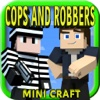 NEW COPS & ROBBERS PRISON HUNTER - Survival Block Mini Game with Multiplayer