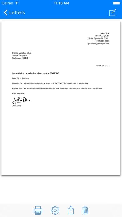 Screenshot von Briefe3