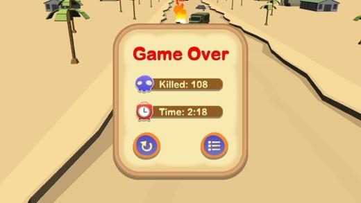 Zombie Smash Racer Screenshot