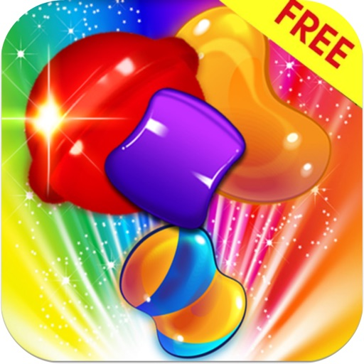 Match-3 Puzzle Candy Mania iOS App