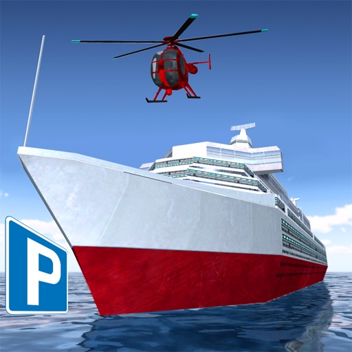 Cruise Ship Parking  Realistic 3D Mega Yacht And