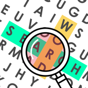 Word Search Rush - Puzzles daily find hidden words with celebrity brain crossword icon