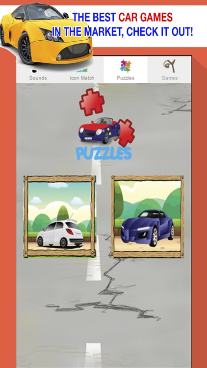 car games for little kids play puzzles and sounds