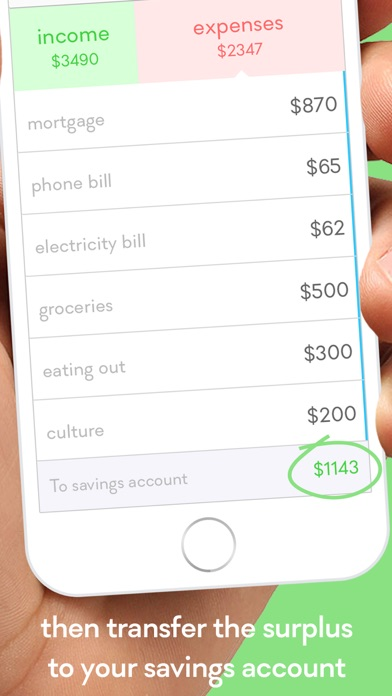 Monthly  Budget Planner W Swipe Expense Tracker On The App Store
