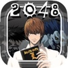 "2048 Anime & Manga - "" Logic Numbers Puzzle For Death Note Edition """