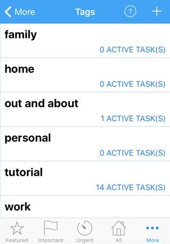 ActionComplete GTD Toolkit 2 screenshot 4