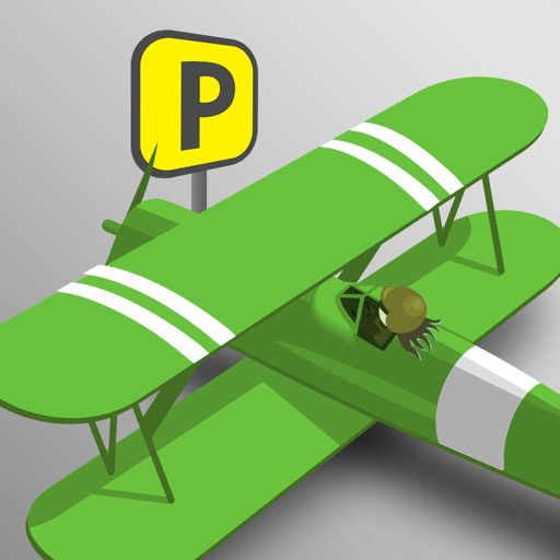 Turbo Air Plane Airport Parking - new driving simulator arcade game iOS App
