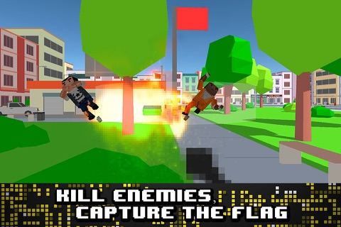 Pixel Wars: City Battlefield 3D screenshot 2