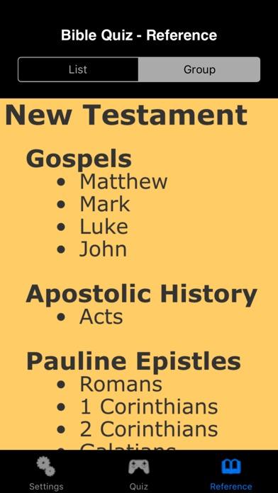 Bible Quiz Deluxe Скриншоты7