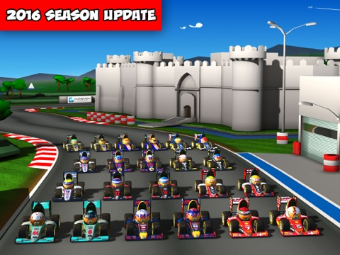 MiniDrivers - The game of mini racing cars на iPad