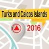 特克斯和凯科斯群岛 離線地圖導航和指南