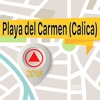 Playa del Carmen (Calica) Offline Map Navigator und Guide
