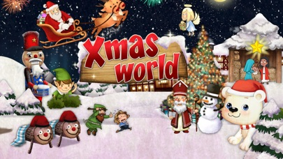 Screenshot of Babbo Natale per Bambini  App -  Xmas World1