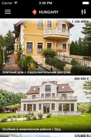 Mirag - Недвижимость в Венгрии screenshot 1